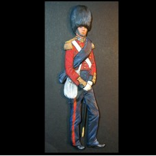 Officer Scots Fusilier Guards 1854